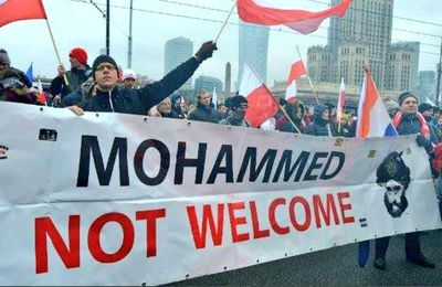 « Mohammed not welcome »
