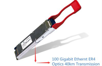 Reach to 40km Transmission – 100G QSFP28 ER4 Lite Module