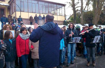 Rothau (Bas-Rhin) : inauguration d'un jardin de la mémoire en hommage aux déportés de Natzweiler