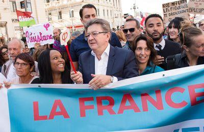 """La vidéo du discours de JL Mélenchon :  La France Insoumise de la Bastille à la République :15 0.000 citoyens dénoncent le """"Coup d'Etat social"""" perpétré par Macron au nom de l'oligarchie"""