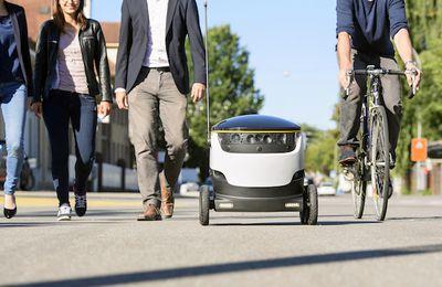 Starship Technologies lève 17,2 millions de dollars pour ses robots livreurs