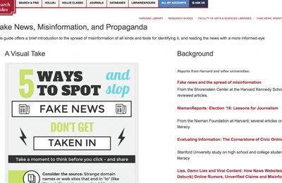 Le guide bidon d'Harvard sur les sites dits de « fausses nouvelles » (Global Research.ca)