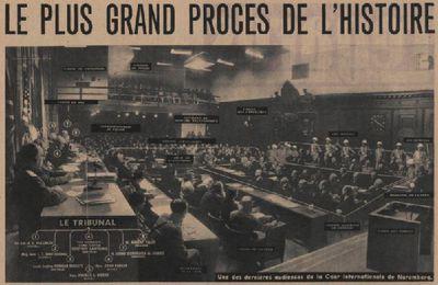Procès de Nuremberg - Les actes disponibles en français et en numérique