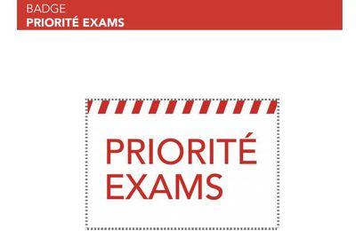 Priorité exams?