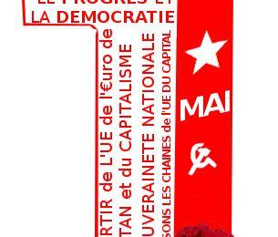 1er mai journée internationale des travailleurs en lutte contre le capital