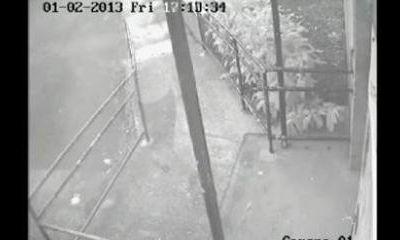 Un fantôme apparaît sur une vidéo tournée avec une caméra de surveillance !