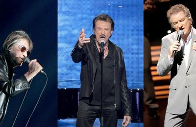 Hallyday, Mitchell, Dutronc, 3 légendes[Replay] Vend.26-08-2016 France3