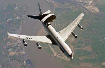 Les AWACS de l'OTAN en mission au Moyen-Orient