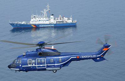 La police allemande commande 3 hélicoptères Airbus H215