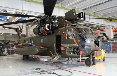 Airbus va moderniser certains CH-53 de la Luftwaffe