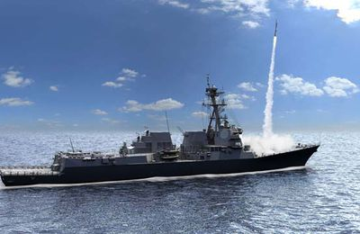 Interception de missiles multiples pour l'AMDR de Raytheon