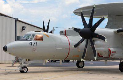 Premier vol pour l'E-2D Advanced Hawkeye japonais