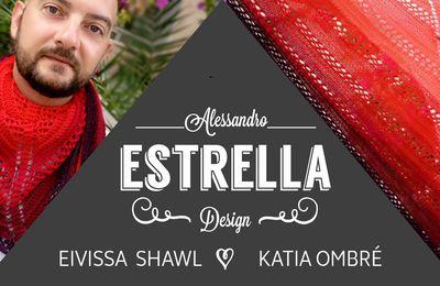 Châle Eivissa par Alessandro Eestrella en Ombré de Katia