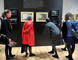 Les vacances d'Actu : David , Courbet et Actumediation se rencontrent au Musée d'art Roger Quilliot !