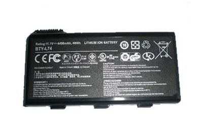 Cheap BTY-L74 MS-1682 91NMS17LF6SU1 laptop battery for MSI A5000 A6000 A6200 Series