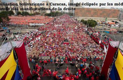 VENEZUELA : CE QUE L'ON NE VOUS DIT PAS SUR LES MANIFESTATIONS