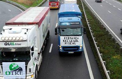 CFDT : une opération en solo de la CFDT Transports au péage de Saint-Arnoult