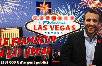 Déplacement de Macron à Las Vegas en 2016 : perquisitions chez Havas et Business France