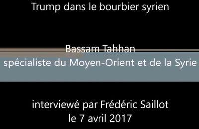 [Vidéo]Trump dans le bourbier syrien, par Bassam Tahhan