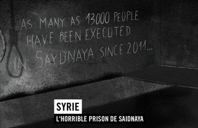 Syrie : L'horrible prison de Saidnaya (Amnesty international)