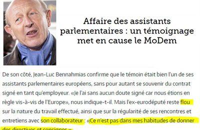 [Bayrougate] Assistants parlementaires : un nouveau témoin accuse le MoDem (Les Crises)