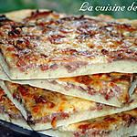 Pizza à la mode alsacienne