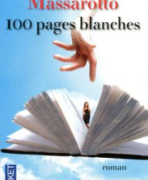 100 pages blanches de Cyril MASSAROTTO