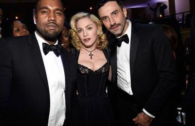 Madonna at Black Ball. Supporting Alicia Keys' charity event. (New York)