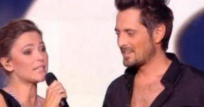 Vincent Cerutti et sa partenaire Katrina Patchett premiers éliminés de la saison en direct hier soir sur TF1
