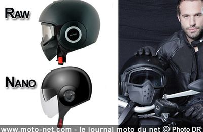 Casques moto : Michalak ''transformé'' ambassadeur Shark