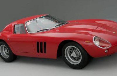 Une Ferrari 250 GTO vendue 38 000 000 €