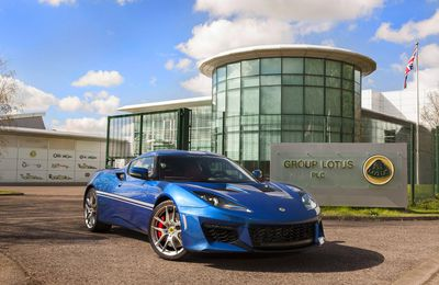 Lotus Evora 400 Hethel Edition 2016