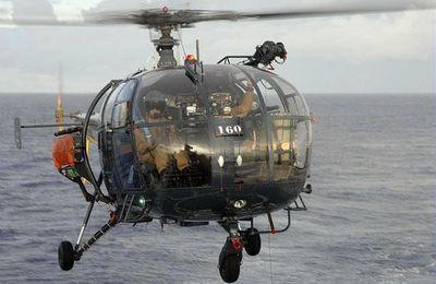 Une Alouette III de la marine se crashe en Nouvelle-Calédonie