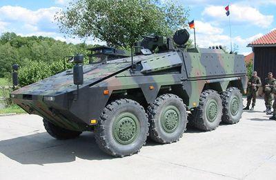 La British Army pencherait pour le véhicule blindé ARTEC Boxer