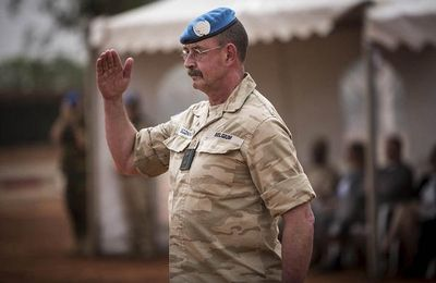 Un général belge a pris le commandement de la mission des Nations unies au Mali
