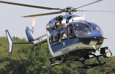 Le taux de disponibilité des hélicoptères de la Gendarmerie se maintient aux environs de 75%