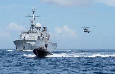 Les Forces armées aux Antilles ont permis la saisie d'une tonne de drogue en huit jours