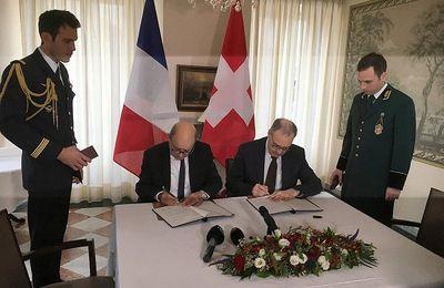 Commémoration des 500 ans de « paix perpétuelle » entre la France et la Suisse