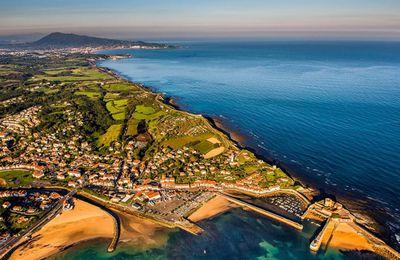 La côte basque vue du ciel, des photos à couper le souffle !
