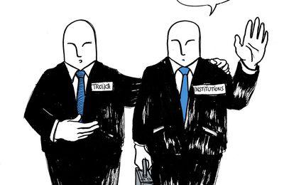 Derrière les volutes d'encens technocratique