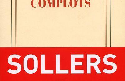 Le site en forme de portrait de Philippe Sollers