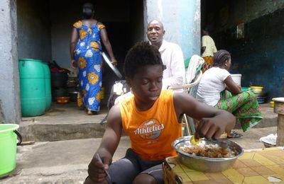 Sénégal, moment gastronomique