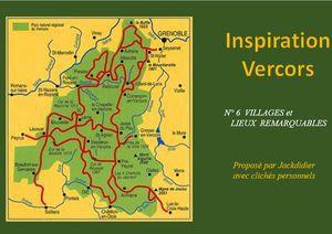 Inspiration Vercors 6 (Villages et lieux remarquables)