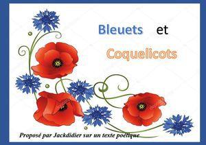 Bleuets et Coquelicots