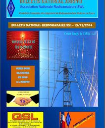 Bulletin National Hebdomadaire ANRPFD S51-19/12/2014!