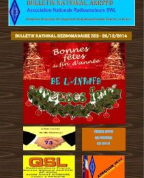 Bulletin National Hebdomadaire ANRPFD S52-26/12/2014!