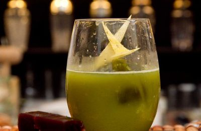 The Rising Sun, cocktail giapponese con tè matcha