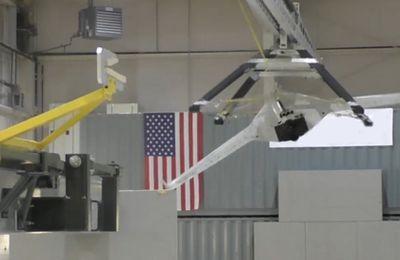 Vidéo. Darpa: un bras télescopique pour lancer et récupèrer un drone