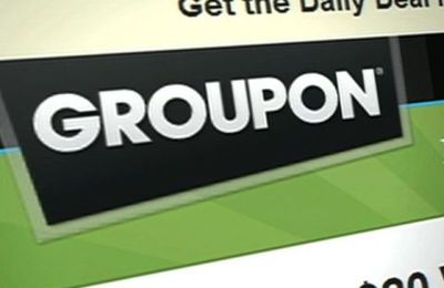 Groupon between the stock market and earns 50%