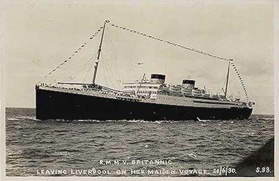 RMS Britannic (1929 White Star Line)